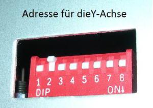 DIP-Schaltung-Y-Achse