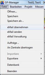 GP-Manager-Dateimenü-eMail-übernehmen