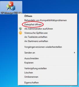 GP-Manager-Verknüpfung-Eigenschaften-Dateipfad-öffnen-markiert