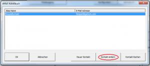 GP-Manager-eMail-Adressbuch-Kontakt-ändern-markiert