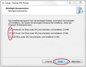 Setup-Bullzip-weitere-Software-markiert